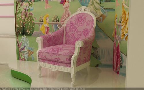 Ghế đơn sofa cổ điển