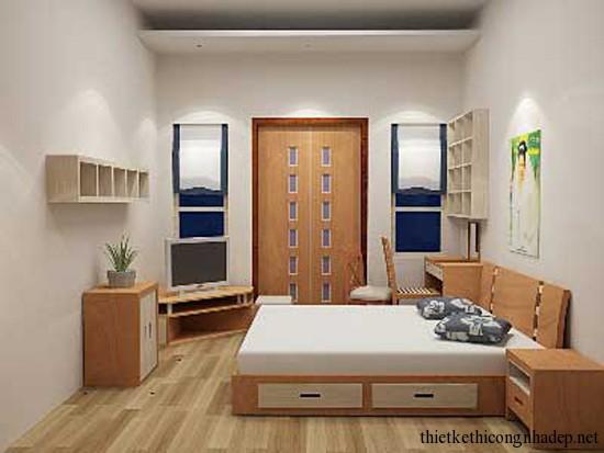 phòng ngủ hiện đại ấm áp