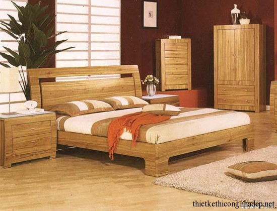 trọn bộ nội thất gỗ phòng ngủ