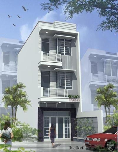mẫu thiết kế biệt thự nhà phố số 5