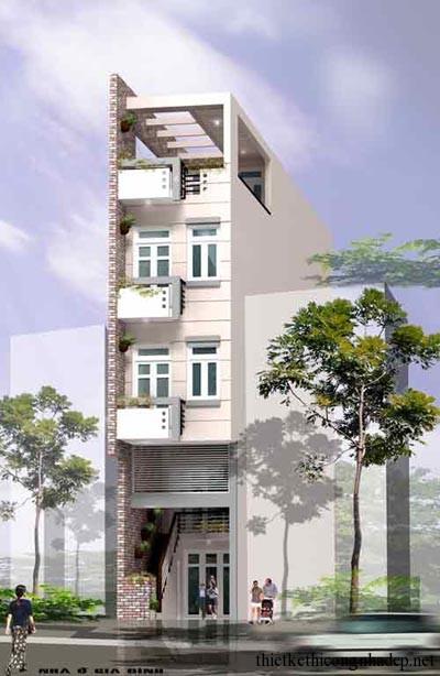 mẫu thiết kế biệt thự nhà phố số 6