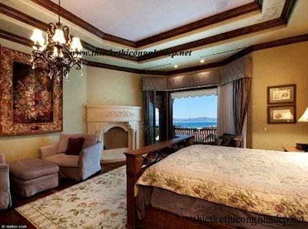 Phòng ngủ sang trọng ấm cúng