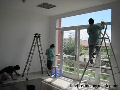 mẫu ảnh thợ thi công nhà ở 2