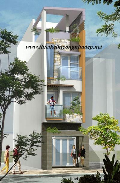 mẫu thiết kế nhà phố số 7