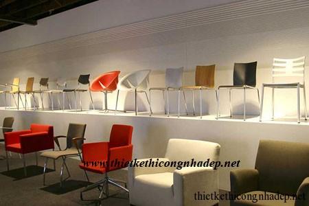 Thiết kế nội thất showroom cửa hàng