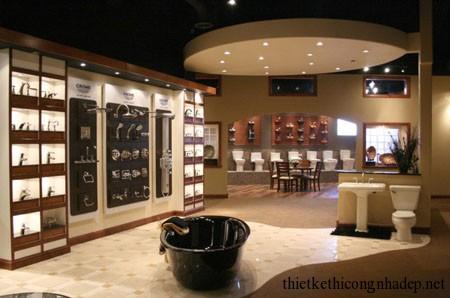 Showroom thiết bị vệ sinh cao cấp