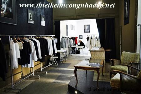 showroom quần áo thời trang
