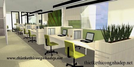 mẫu văn phòng số 2