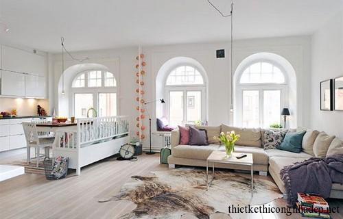 Yếu tố không gian phòng khách