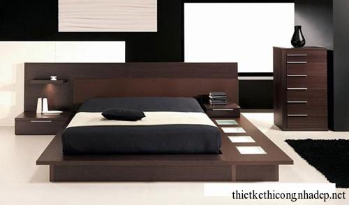 Giường ngủ hiện đại sang trọng