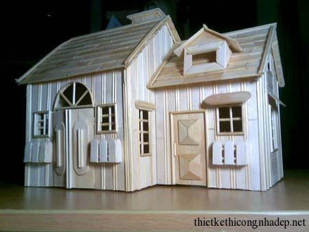 Mẫu mô hình thiết kế nhà nhỏ đẹp