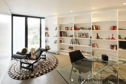 Nội thất phòng đọc sách