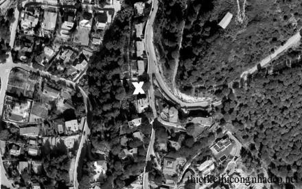 Góc view từ google earth