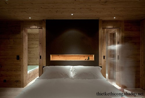 Thiết kế thi công nhà bằng gỗ đẹp