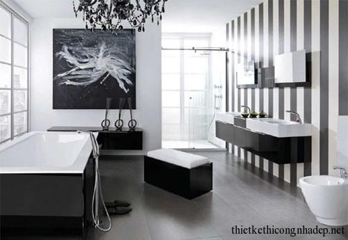 Mẫu thiết kế nội thất phòng tắm hiện đại số 11