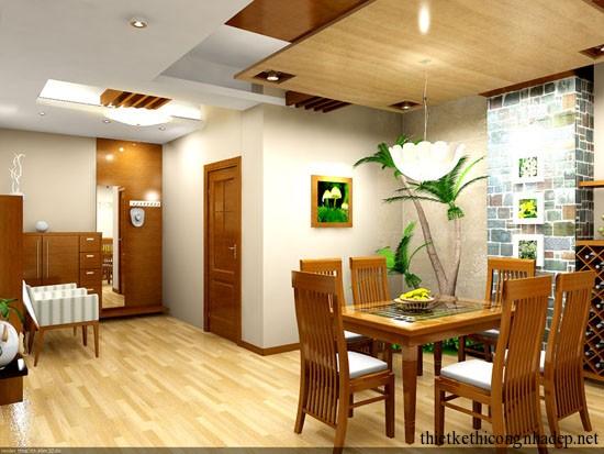 Thiết kế thi công phòng bếp nhỏ đẹp