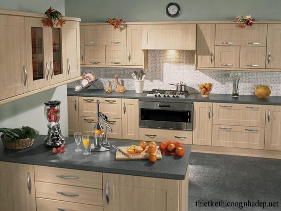 mẫu thiết kế phòng bếp số 5