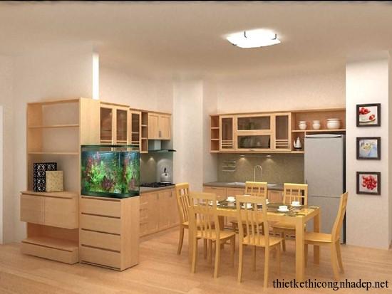 mẫu thiết kế phòng bếp số 9