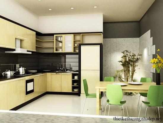 mẫu thiết kế phòng bếp số 10