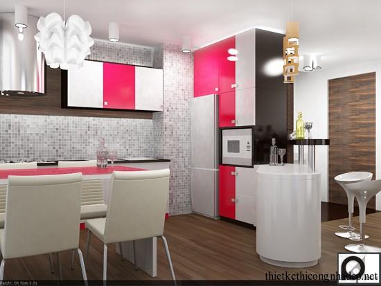 mẫu thiết kế phòng bếp số 11