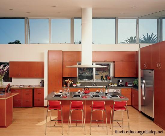 mẫu thiết kế phòng bếp số 12