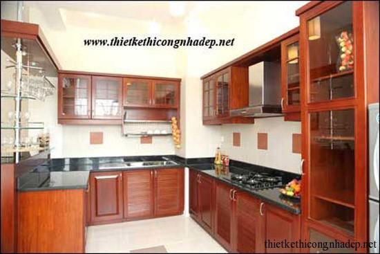 mẫu thiết kế phòng bếp số 14