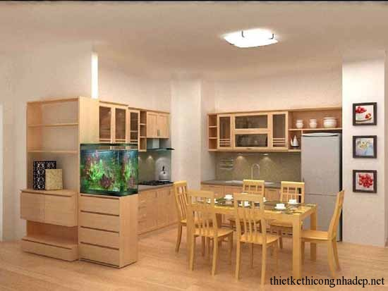 mẫu thiết kế phòng bếp số 18
