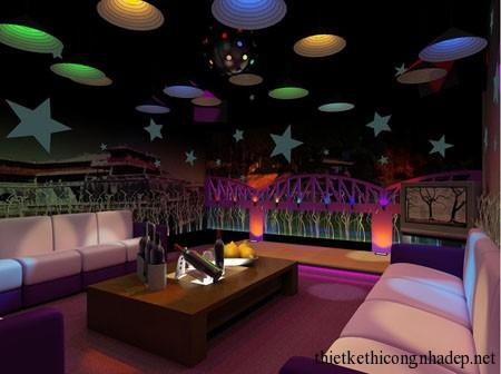 mẫu phòng hát karaoke số 9
