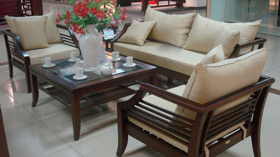 mẫu bàn ghế sofa gỗ số 1