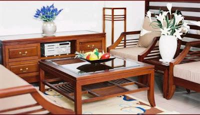 mẫu bàn ghế sofa gỗ số 10