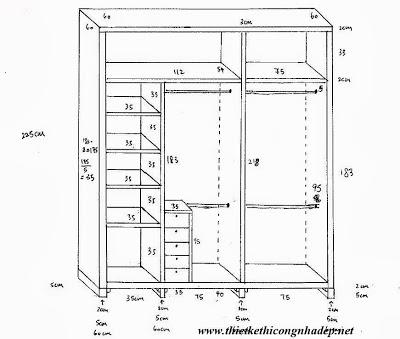 mẫu tủ quần áo số 12