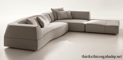 Mẫu sofa được thiết kế cách điệu