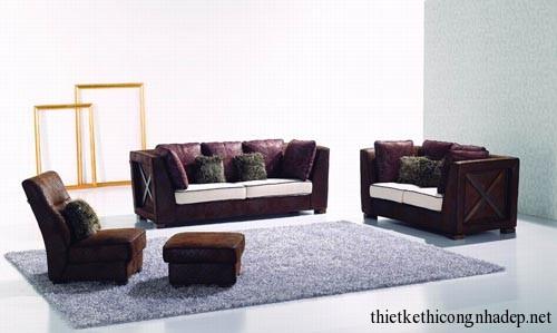 mẫu bàn ghế sofa phòng khách số 12