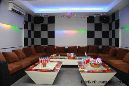 mẫu sofa phòng hát karaoke số 2