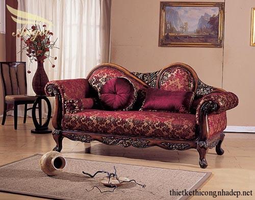 Ghế sofa văng cổ điển đẹp