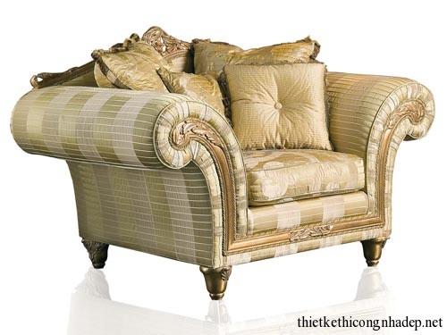 Mẫu bàn ghế sofa cổ điển hiện đại