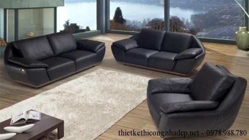 Mẫu sofa góc phòng khách Italia