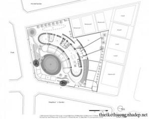 Mẫu thiết kế nhà vườn hình Thuyền hiện đại