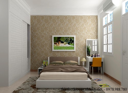 Mẫu nội thất phòng ngủ nhỏ đẹp 14