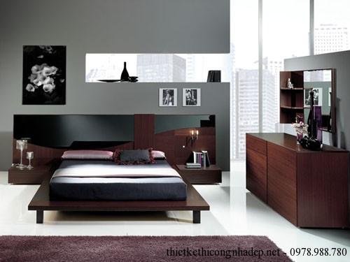 Mẫu thiết kế nội thất phòng ngủ nhỏ gọn xinh xắn