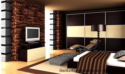 Mẫu nội thất phòng ngủ nhỏ đẹp 8