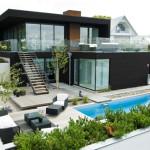 Thiết kế kiến trúc và nội thất biệt thự vườn 2 tầng