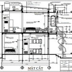 Thiết kế nhà phố 2 tầng hiện đại diện tích 3.4 x 13.4 mét