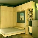 Giải pháp giường ngủ thông minh cho nhà diện tích nhỏ
