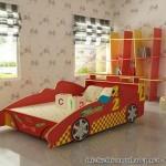 Mẫu giường ngủ trẻ em hình ô tô giá rẻ