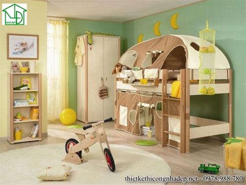 Giường ngủ kiểu lâu đài