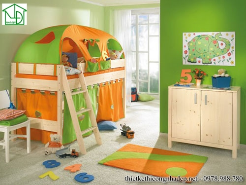 Giường ngủ 2 tầng lâu đài