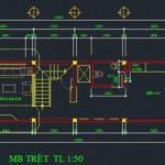 Bảng dự toán chi phí xây dựng nhà phố 5 tầng