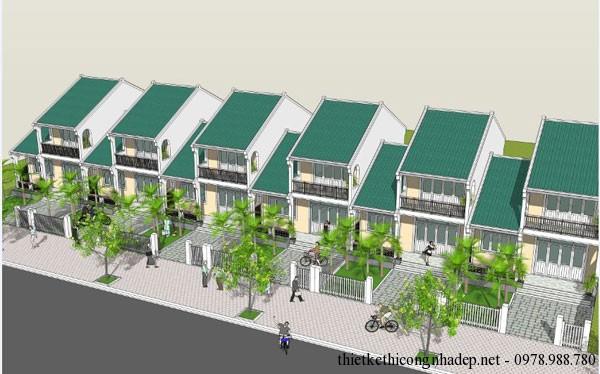 thiết kế kiến trúc nhà cấp 4 số 2