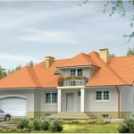 Mẫu bản vẽ thiết kế nhà 2 tầng kiến trúc Châu Âu